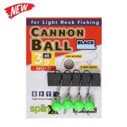 Spiinx Cannon Ball UV Yeşil Jig Head