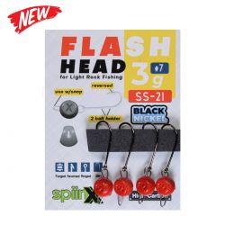 Spiinx Flash Head Kırmızı Jig Head