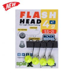 Spiinx Flash Head UV Sarı Jig Head
