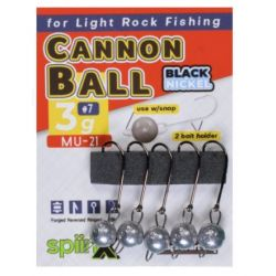 Spiinx Cannon Ball Ham Boyasız Jig Head