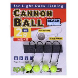 Spiinx Cannon Ball UV Sarı Jig Head