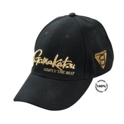 GAMAKATSU Cap G-Triangle Black/Gold