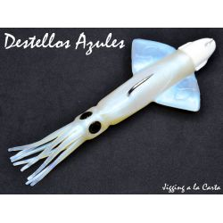 Jigging A La Carta Xipi Kalamar 120g Destellos Azules Silikon Yem