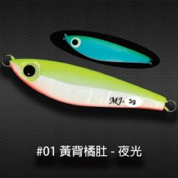 SAME Minnow Jig MJ Jig 3g