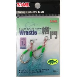 SAME Micro Jig Assist Hook #L (Double)