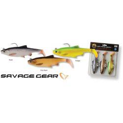 Savage gear 3D Roach 7,5cm 9g 3 Adet Kit Suni Yem