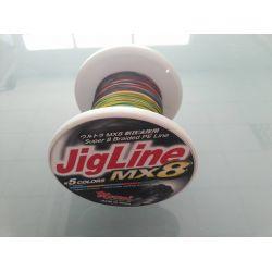 MOMOI JIGLINE MX8 500MTR/SPOOL 0.30MM (#3,5) 55LB/25KG MULTI-COLOR