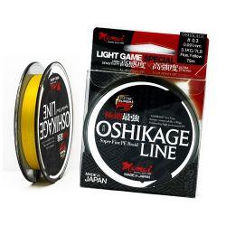 Momoi Oshikage LRF ipi 0,4 pe (0,105) 8 lb (3,6 kg) 125m Fluorescent Yellow