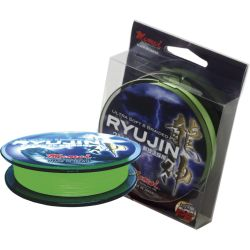 MOMOI RYUJIN LIME GREEN 0,16 25 LB 150 MT ULTRA SOFT 8 BRAIDED PE ÖRGÜ İP