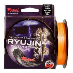 MOMOI RYUJIN ORANGE 0,18 MM 30 LB 150 MT ULTRA SOFT 8 BRAIDED PE ÖRGÜ İP