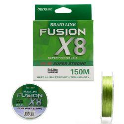 Remixon Fusion 150M X8 Green İp Misina 0,06mm